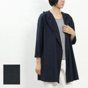 【20% OFF】 ina (イナ) メランジドビーストレッチパーカーコート