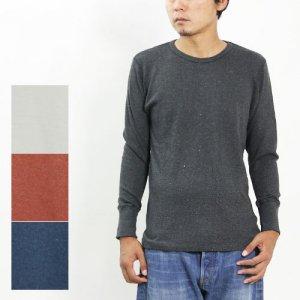 SBTRACT (サブトラクト) BLEND L/S CREW NECK TEE