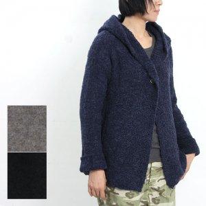denicher (デニシェ) ループ編みフーデッドジャケット