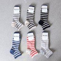 RoToTo (ロトト) Marine Border Socks