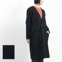 MidiUmi (ミディウミ) Vネックノーカラーコート