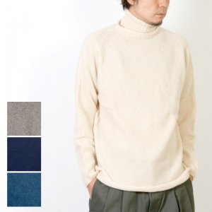 NOR'EASTERLY (ノア イースターリー) L/S TURTLE NECK / タートルネックセーター