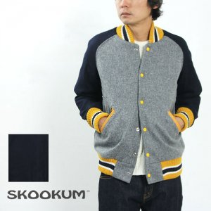 【50% OFF】 SKOOKUM (スクーカム) AWARD JACKET (ALL MELTON) / Cotyle別注
