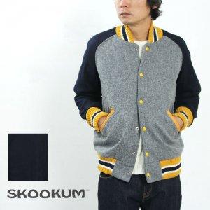 【20% OFF】 SKOOKUM (スクーカム) AWARD JACKET (ALL MELTON) / Cotyle別注