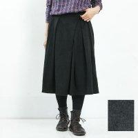 kelen (ケレン) Random Tuck Flared Skirt Magit