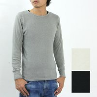 SBTRACT (サブトラクト) WOOL CREW 8 LENGTH SLEEVE