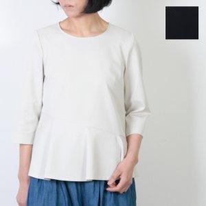 【30% OFF】 yangany (ヤンガニー) スクエアペプラムプルオーバーブラウス