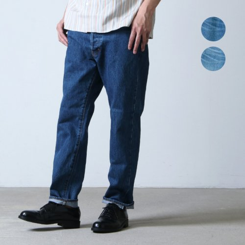 Ordinary Fits (オーディナリーフィッツ) 5POCKET ANKLE DENIM used / 5ポケットアンクルデニム ユーズド
