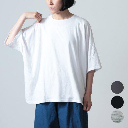 jujudhau (ズーズーダウ) WIDE -T / ワイド Tシャツ