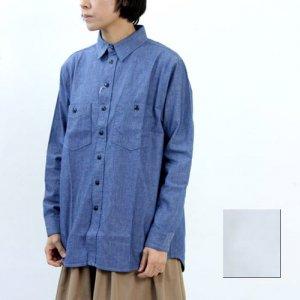 【40% OFF】 kha:ki (カーキ) ユーティリティーシャツ
