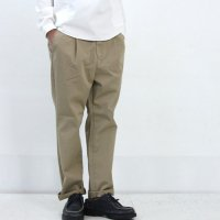 ONES STROKE (ワンズストローク) One Tuck Twill Pants