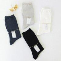 evameva (エヴァムエヴァ) Silk cotton socks