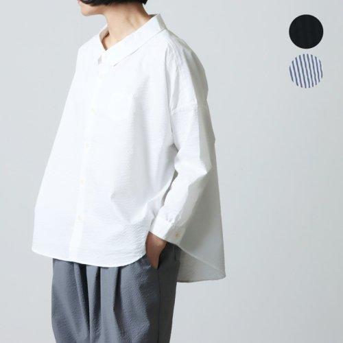 Ordinary Fits (オーディナリーフィッツ) BARBER SHIRT gauze / ガーゼバーバシャツ