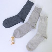 evameva (エヴァムエヴァ) Recycled cotton socks