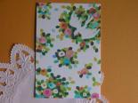 後藤みき*いっぱいのお花と鳥のポストカード