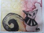 Queen of the desert 14 *銅版画のミニフレーム*キムラトモミ
