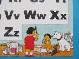 mamechanのアルファベット&数字ぬり絵