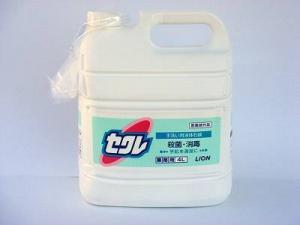 手洗い用液体石鹸セクレ 4L