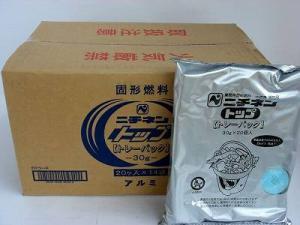 ニチネン固形燃料 トップトレーパック 30g 1ケース[280個:20個入×14袋]