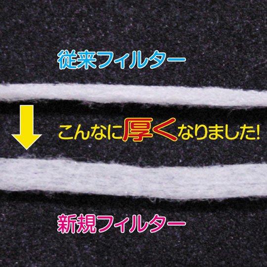 油とりフィルター3.6m巻(ロール)・厚デカ(厚さ2倍)タイプ