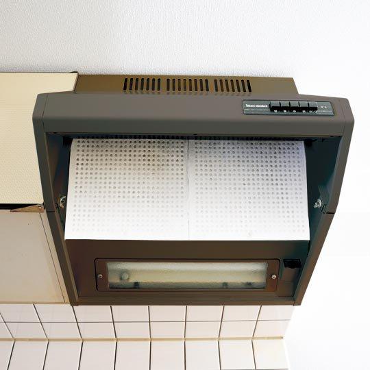 ガバッと選べるキャップ式レンジフード用フィルター(36×47cm)