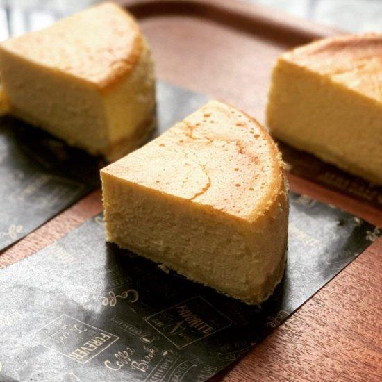 オリジナル蒸し焼きチーズケーキ(ピース)