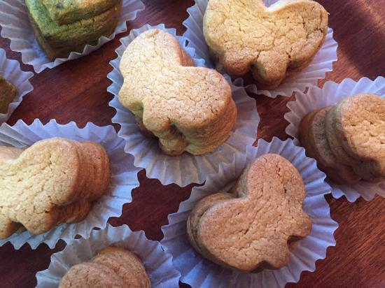 ちょうちょのクッキー(4枚入り)