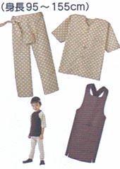おまつり着(シャツ、ドンブリ、パッチ)型紙