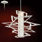 <B>【CORBETT】</B>アメリカ製・デザインシャンデリア「Tantrum」1灯(W445×H425mm)