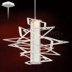 <B>【CORBETT】</B>アメリカ製・デザインシャンデリア「Tantrum」1灯(W650×H584mm)