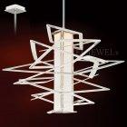 <B>【CORBETT】</B>アメリカ製・デザインシャンデリア「Tantrum」1灯(W787×H762mm)
