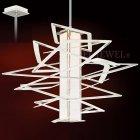 <B>【CORBETT】</B>アメリカ製・デザインシャンデリア「Tantrum」1灯(W1130×H1092mm)