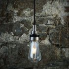 <b>【Mullan】</b>インダストリアル・スタイル ペンダントライト1灯「BO」(W80×H220mm)