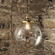 <b>【Mullan】</b>インダストリアル・スタイル ペンダントライト1灯「LAGUNA」(W350×H445mm)