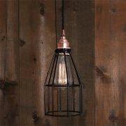 <b>【Mullan】</b>インダストリアル・スタイル ペンダントライト1灯「LIMA」(W120×H260mm)