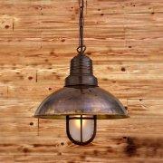 <b>【Mullan】</b>インダストリアル・スタイル ペンダントライト1灯「TIRANA」(W300×H420mm)