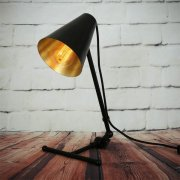 <b>【Mullan】</b>インダストリアル・スタイル テーブルライト1灯「SIMA」(W220×H450mm)