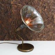 <b>【Mullan】</b>インダストリアル・スタイル テーブルライト1灯「GRAMOPHONE」(W400×H500mm)