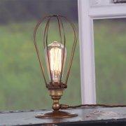 【Mullan】「VOX」ケージテーブルライト1灯(W120×H285mm)