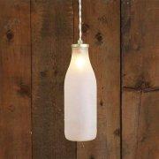 <b>【Mullan】</b>ミルクボトル ペンダントライト1灯「MILK BOTTLE」(W80×H250mm)