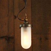 <b>【Mullan】</b>インダストリアル・スタイル ペンダントライト1灯「OREGON B WELL」(W120×H230mm)