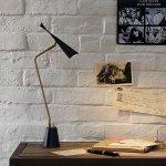インダストリアルスタイル・デスクトップランプ「ゴシップデスクライト」1灯(LED電球内蔵)