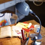 <b></b>インダストリアルスタイル・デスクトップランプ「オールドスクールデスクランプ」1灯(H300mm)
