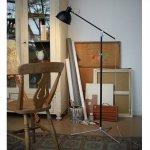 <b></b>インダストリアルスタイル・フロアーランプ「ソーホーフロアーランプ」1灯(W180×H200mm)