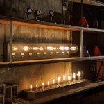 インダストリアルスタイル・オプションパーツ「ライトバルブディスプレイ」10灯(W1070mm)