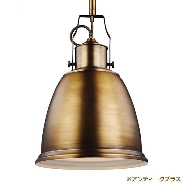 【FEISS】 アメリカ製デザインペンダントライト「LIGHT PENDANT」1灯(W520×H355mm)