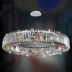 <b>【ALLEGRI】</b>クリスタルシャンデリア「RONDELLE」12灯クローム(φ910×H560mm)