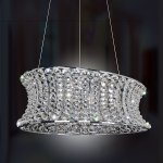 <b>【ALLEGRI】</b>クリスタルシャンデリア「CORSETTE」12灯クローム(W460×H610mm)