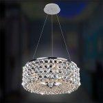<b>【ALLEGRI】</b>クリスタルシャンデリア「ARCHE」3灯クローム(W410×H410mm)
