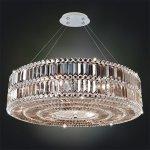 <b>【ALLEGRI】</b>クリスタルシャンデリア「LUXOR」9灯クローム(W810×H610mm)